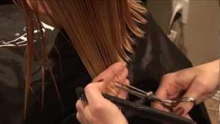 HOW TO CUT GIRLS HAIR // Basic Girls Trim // Hair Tutorial