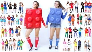30 Last-Minute BEST FRIEND Halloween Costume Ideas! | CloeCouture