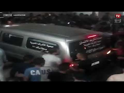 زغاريد في جنازة عريس المرج: قتله تاجر موبيليا قبل فرحه