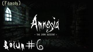 Amnesia: The Dark Descent  (Facecam) - Bölüm 6 - Asansöre Ulaşmak Hiç Bu Kadar Zor Olmamıştı