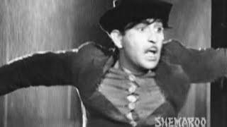 Raj Kapoor makes a Big Mistake - Shree 420 - Funny Comedy Scenes