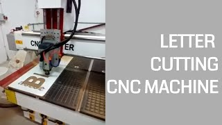 Letter Cutting Woodworking CNC Router Machine from Mohammed from Tanzania