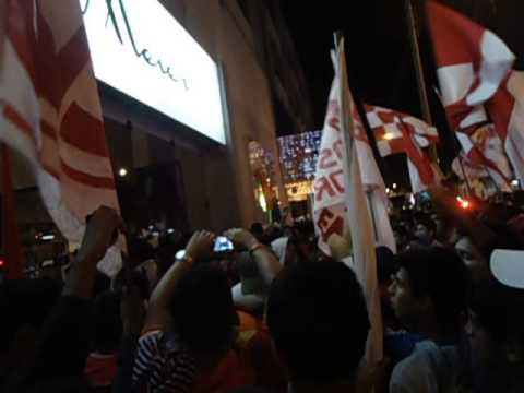 """""""BANDERAZO AURICHISTA 06/12/14"""" Barra: La Banda Los Norteños • Club: Juan Aurich"""