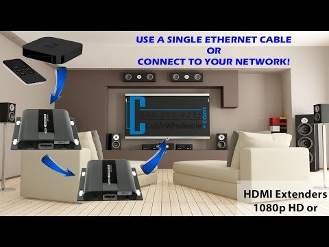 How-to Extend 4K HDMI up to 120m, Other Room/Media Closet