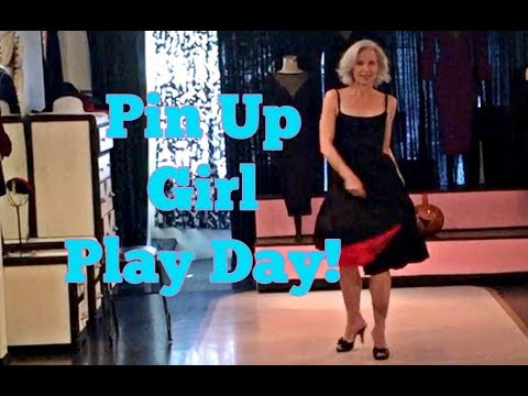 Pin Up Girl Play Day!!