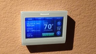 Honeywell RTH9580 WiFi Thermostat EASY Installation