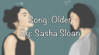 Older   Sasha Sloan (lyrics)