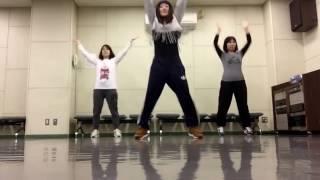 吹田HIPHOPダンササイズクラスの恋ダンス6♡