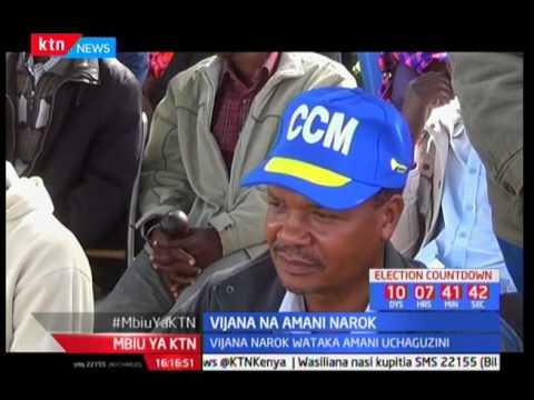 Vijana Narok wataka amani wakati na baada wa uchaguzi