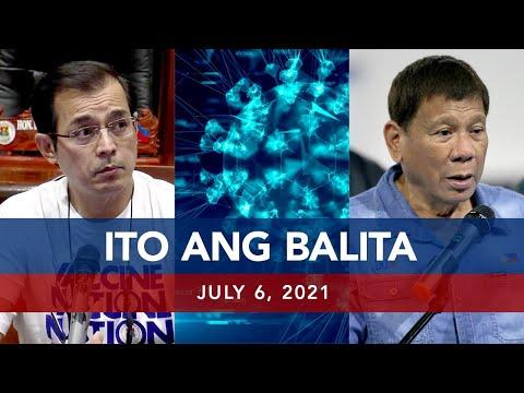 [UNTV]  UNTV: ITO ANG BALITA | July 6, 2021