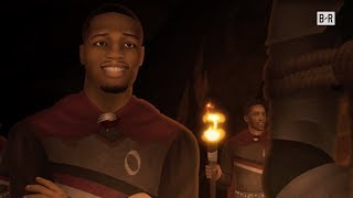 Dame Drops Some Bars on the Warriors | Game Of Zones S6E2
