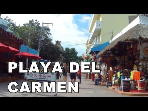 5th Avenue, Playa del Carmen , Mexico | Walking Tour