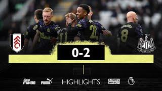 Fulham 0-2 Newcastle United Pekan 38