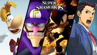 Super Smash Bros TOP 10 Fan-Made Trailers - Waluigi, Shadow & More