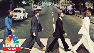 Behind The Famous Beatles Abbey Road Photo | NBC News Now