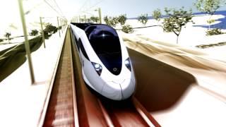 3D Renderings & Animation NY - Alstom Train Speedelia - Renderray.org - Istanbul - Paris - Newyork