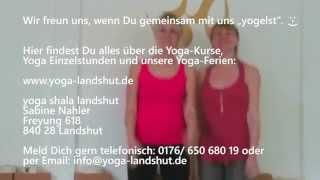 preview picture of video 'yoga shala landshut - Sabine Nahler'