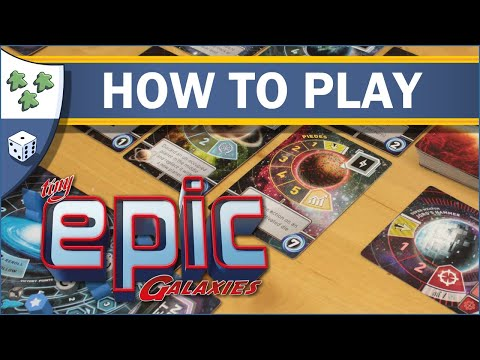 Nights Around a Table - How to Play Tiny Epic Galaxies: Deluxe Edition
