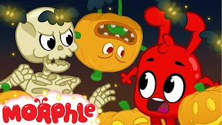 Halloween 7  Decorations come to life   My Magic Pet Morphle   Cartoons For Kids   Mila and Morphle