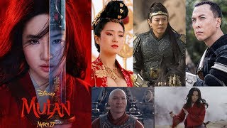 Disney's Mulan 2020 cast
