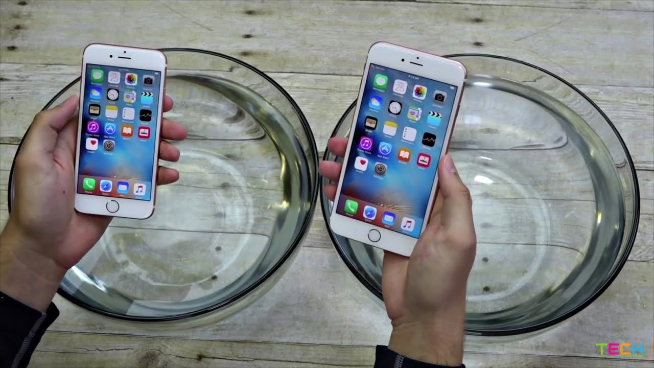 The iPhone 6s Might Be Surprisingly Waterproof