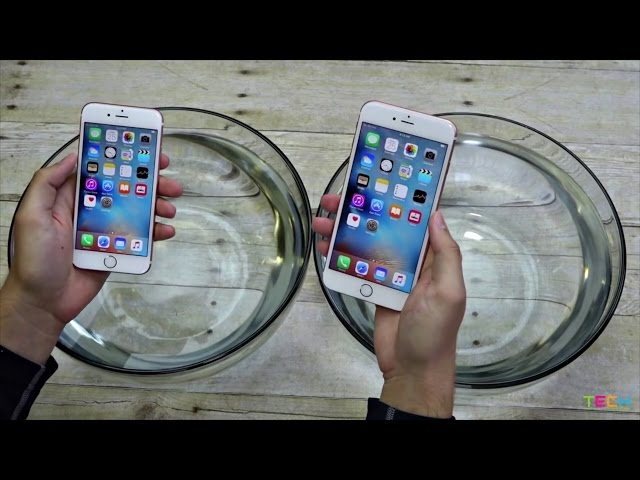 iPhone 6s, iPhone 6s Plus Survive Water Immersion Test