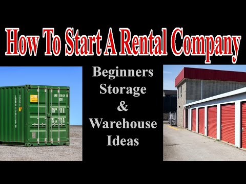 , title : 'Beginner Storage/Warehouse Ideas - How To Start A Rental Company