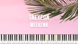 태연 - Weekend
