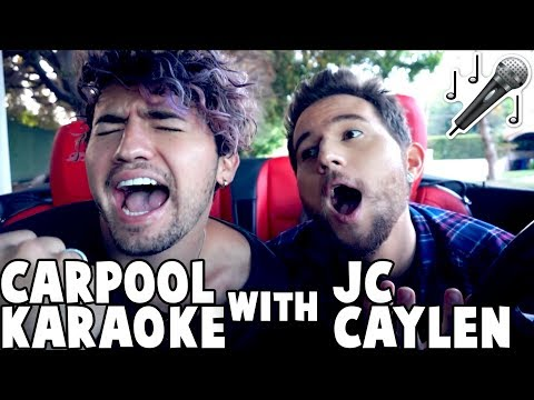 CARPOOL KARAOKE w/ JC CAYLEN