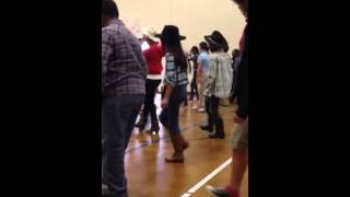 Alexia's hoedown at school