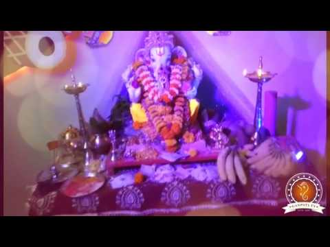 Namita Shinde Home Ganpati Decoration Video