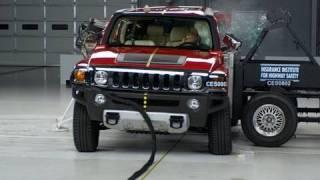 2008 Hummer H3 side IIHS crash test