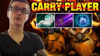 Miracle- Dota 2 [Earthshaker] Mid I'm Not Carry Player