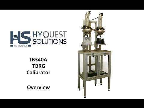 TB340A TBRG Calibrator - Overview