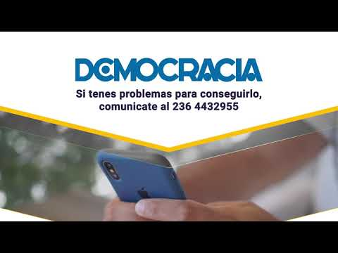 Democracia se continúa distribuyendo durante la cuarentena