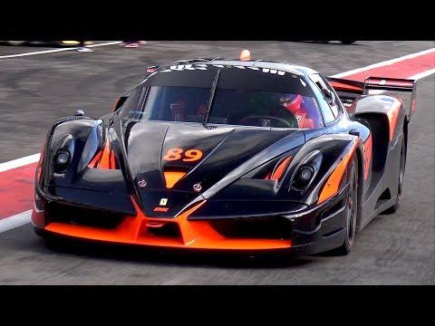Ferrari Fxx Evoluzione Pure Engine Sounds