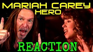 Vocal Coach Reaction To Mariah Carey   Hero   Ken Tamplin