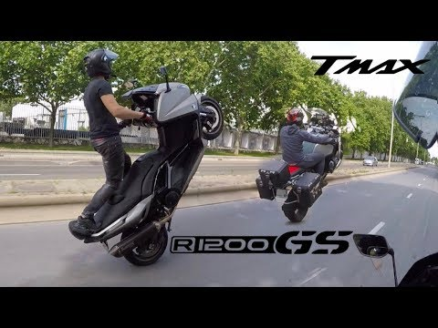 ON LEVE TOUT : TMAX 530 & GS 1200R BMW