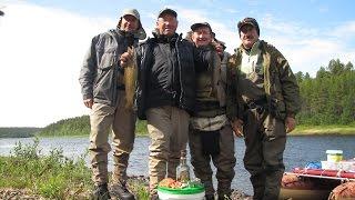 Рыбалка на кольском полуострове река поной