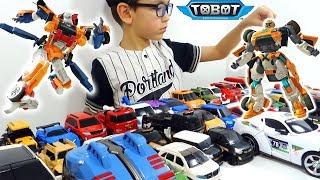 ТОБОТЫ 2019 Большой Челлендж - Трансформируем Тоботы и Машинки-Трансформеры! Tobot Игрушки для детей