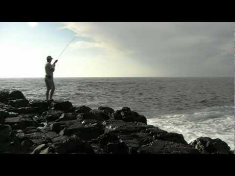 Fly Fishing the Rocks NSW Australia