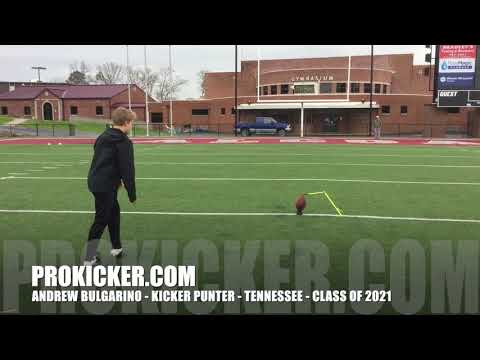 Andrew Bulgarino - Prokicker.com Kicker Punter - Class of 2021