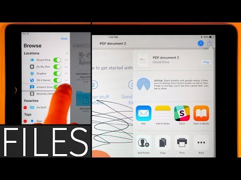 Watch: Apple's new Files app for iOS 11 - iPad Discussions on