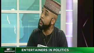 TVC Breakfast 18th January 2019   Entertainers in Politics