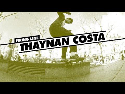 Firing Line: Thaynan Costa