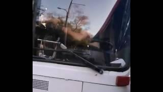Водители автобусов в Караганде подрались за пассажиров