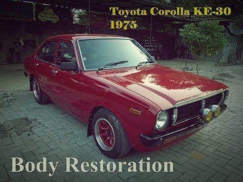 Download Toyota Corolla KE-30 Body Restoration Youtube to MP3 MP4