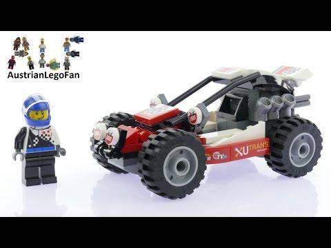 Vidéo LEGO City 60145 : Le buggy