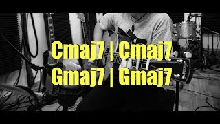 Gmaj7 To Cmaj7 Backing Track - Chill Hip-Hop Feel - Guitar Improvisation Jam Track