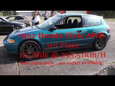 1/2 Mile Race  Salute to Speed 2019 - Pembroke/Petawawa